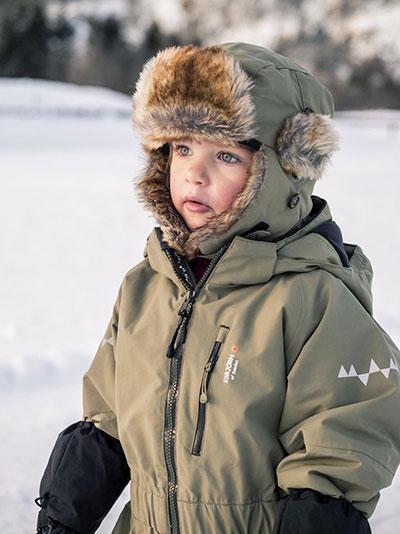 Isbjörn Hardshell Jumpsuit Småbarn